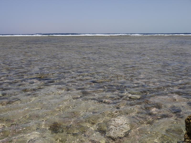 The red sea coast in Sharm El Sheikh. stock photo