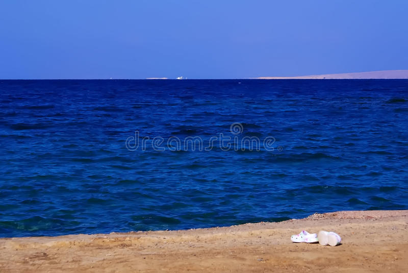 The red sea in Hurghada Egypt Red sea December 2013 stock photos