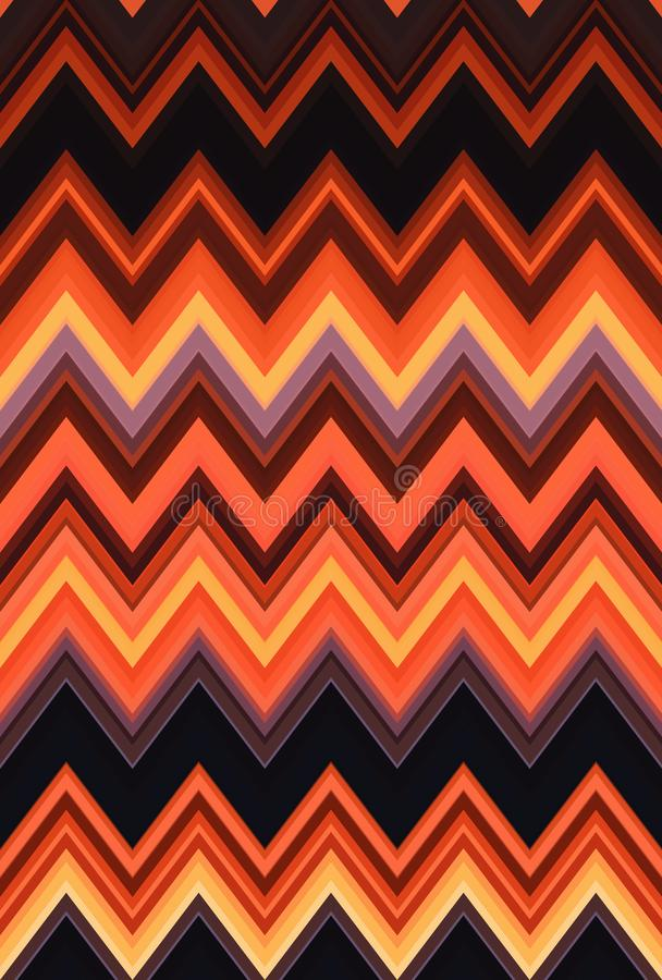 Red seamless Chevron zigzag pattern abstract ruddy rosse art background, trends. Red seamless Chevron zigzag pattern abstract ruddy rosse art background, color stock illustration