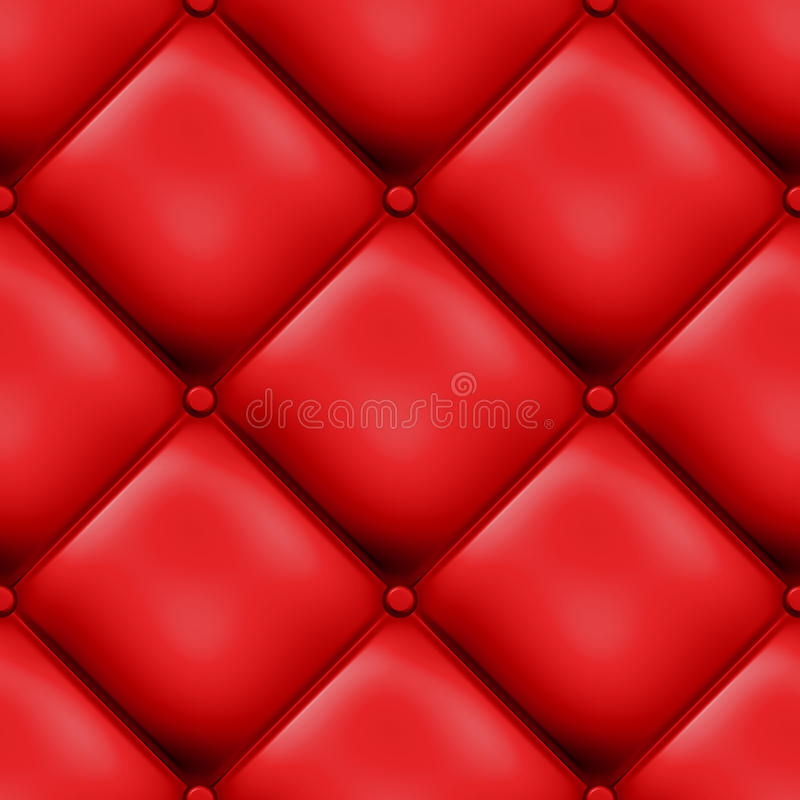 Free Red Seamless Padded Design Stock Photography - 10335352