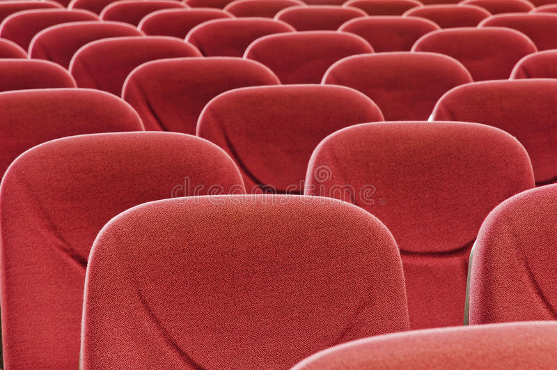 Red Seat Royalty Free Stock Photo