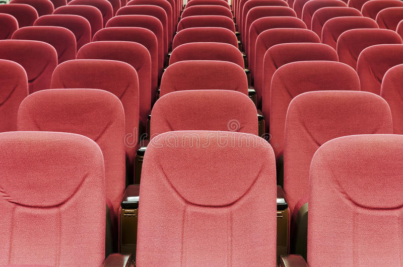 Download Red seat stock photo. Image of empty, pitch, blue, chair - 25271960
