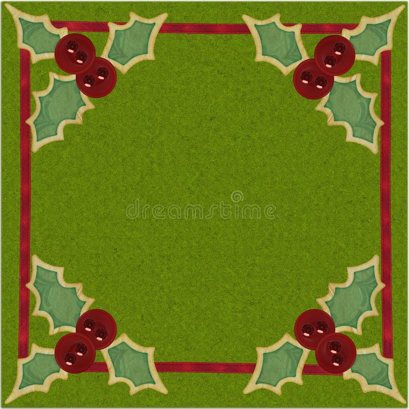 Download Red Sequin Holly Buttons stock photo. Image of evergreen - 17172646