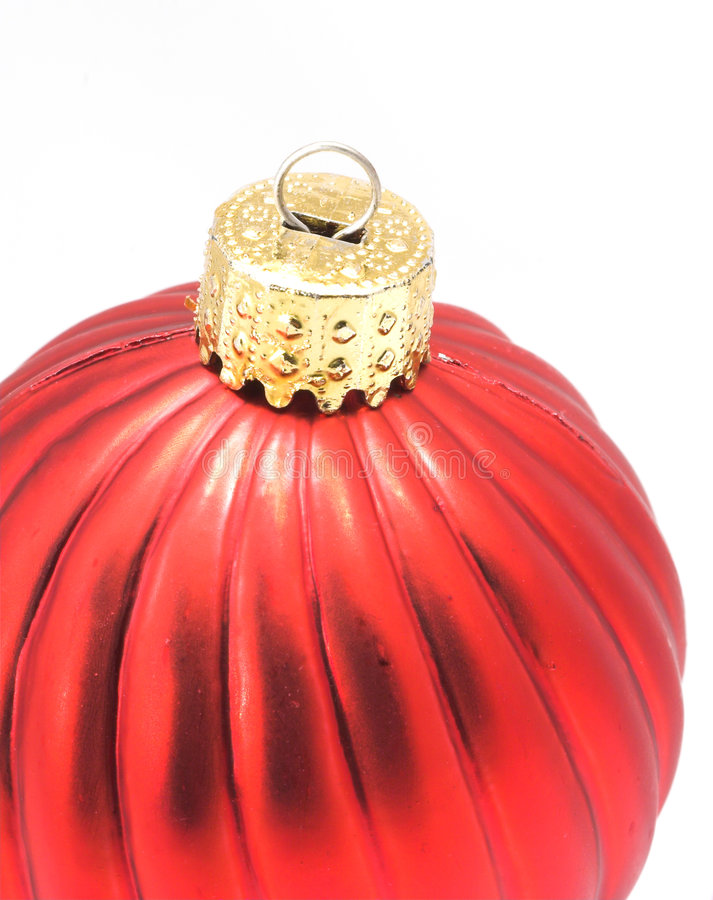 Download Red Shiny Christmas Ornament Stock Image - Image: 3454067
