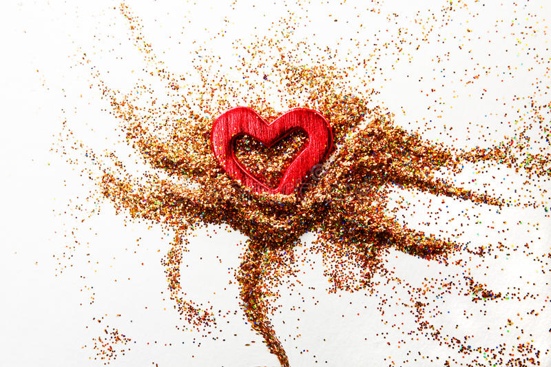 Download Red shiny heart stock illustration. Illustration of nobody - 23071953