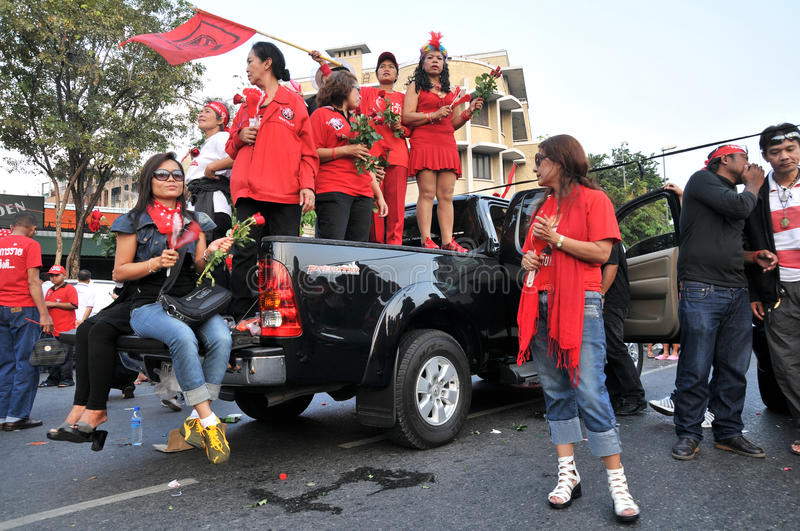 Download Red-Shirt Protest In Bangkok Editorial Photo - Image: 17801666