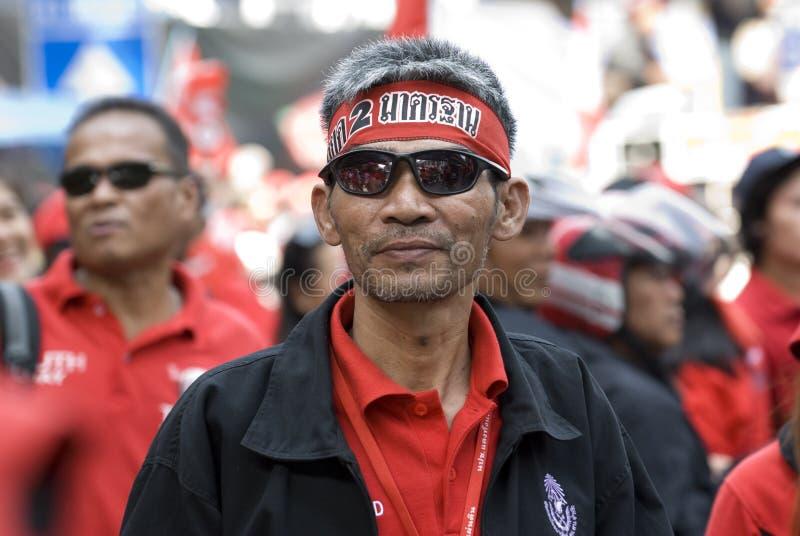 Download Red Shirt Protest - Bangkok Editorial Stock Image - Image: 17966689