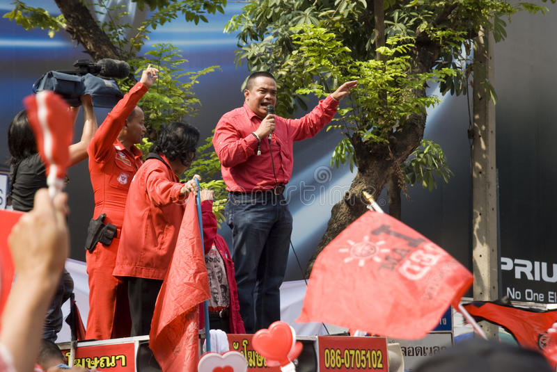 Download Red Shirt Protest - Bangkok Editorial Image - Image: 17967475