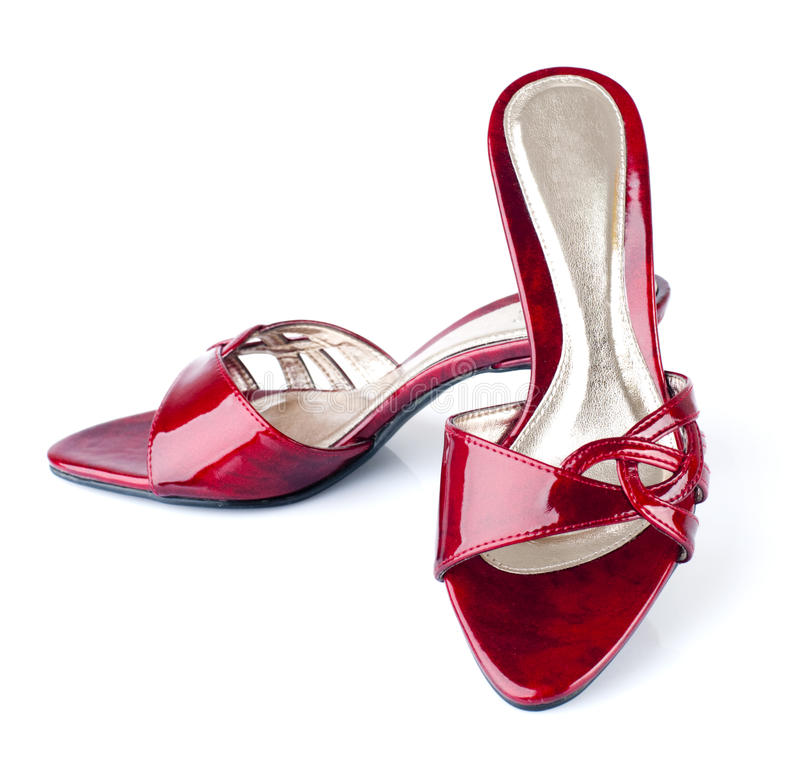Download Red Shoes stock photo. Image of classy, footwear, beauty - 13238424