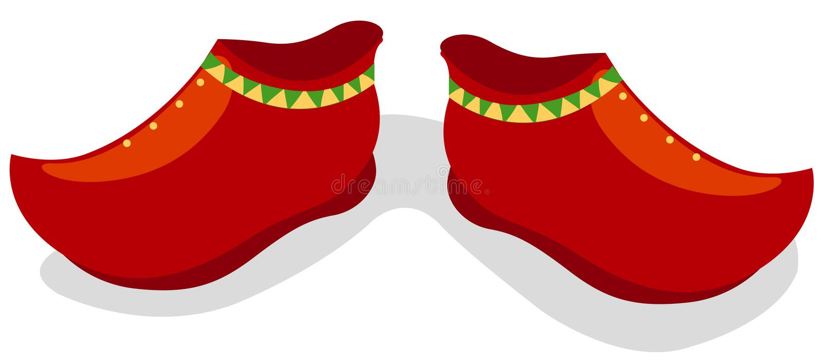 Download Red shoes stock vector. Image of cartoon, icon, accessory - 20441473