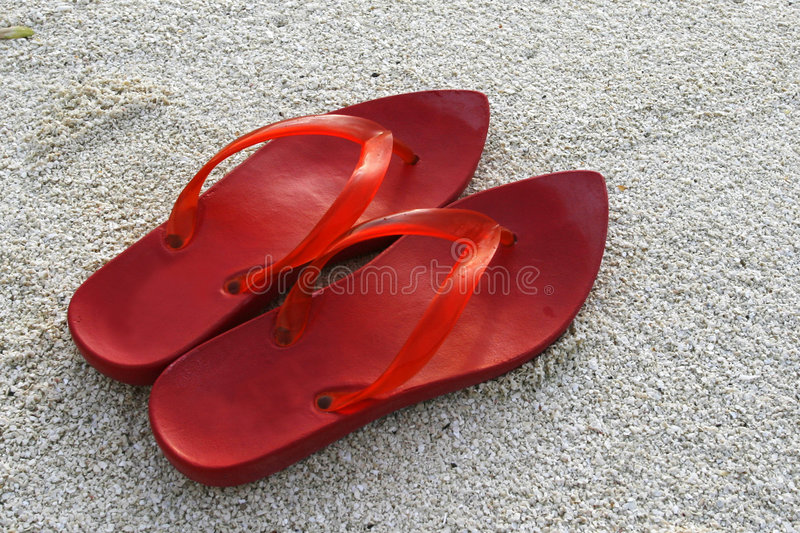 Download Red Shoes stock photo. Image of slipper, woman, beautiful - 4476792