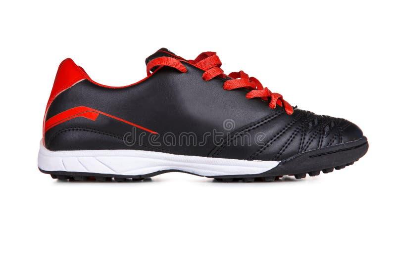 red shoes sporten royaltyfria foton