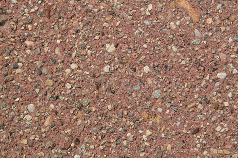 Download Red side walk stock image. Image of stained, side, cement - 13597