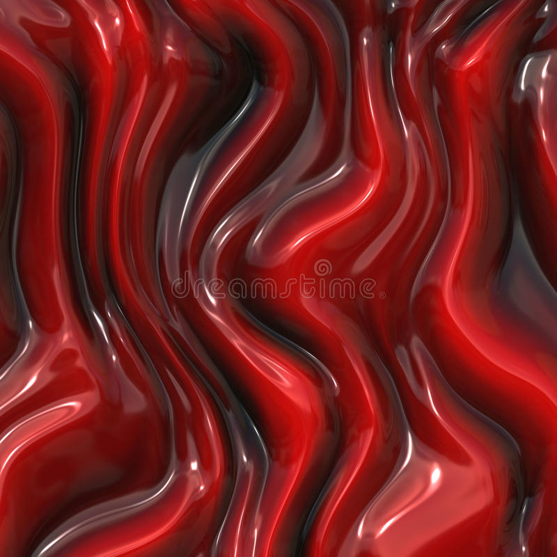Download Red silk stock illustration. Image of curve, material - 26873613
