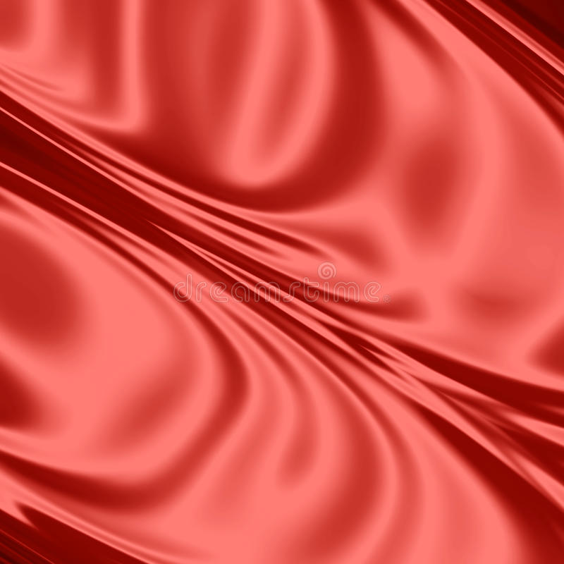 Download Red silk fabric stock illustration. Image of fashion - 22089677