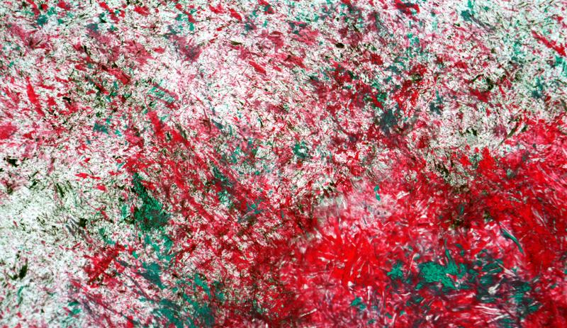 Red silvery green mix soft contrasts, paint watercolor background, abstract painting watercolor background royalty free stock photography