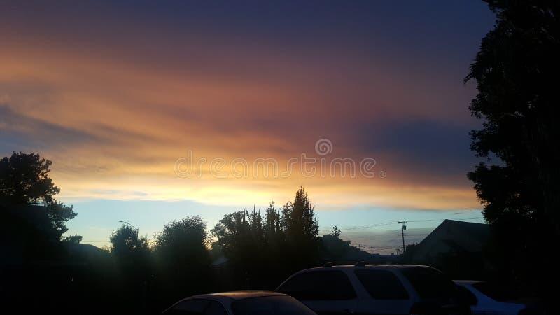 Red Skies arkivfoto