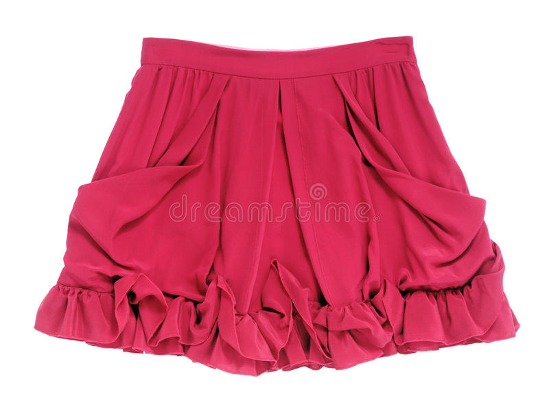 Download Red Skirt Stock Photo - Image: 28656840