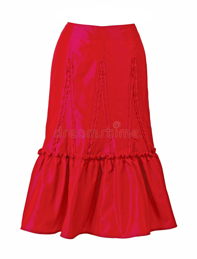 Free Red Skirt Royalty Free Stock Images - 29753269