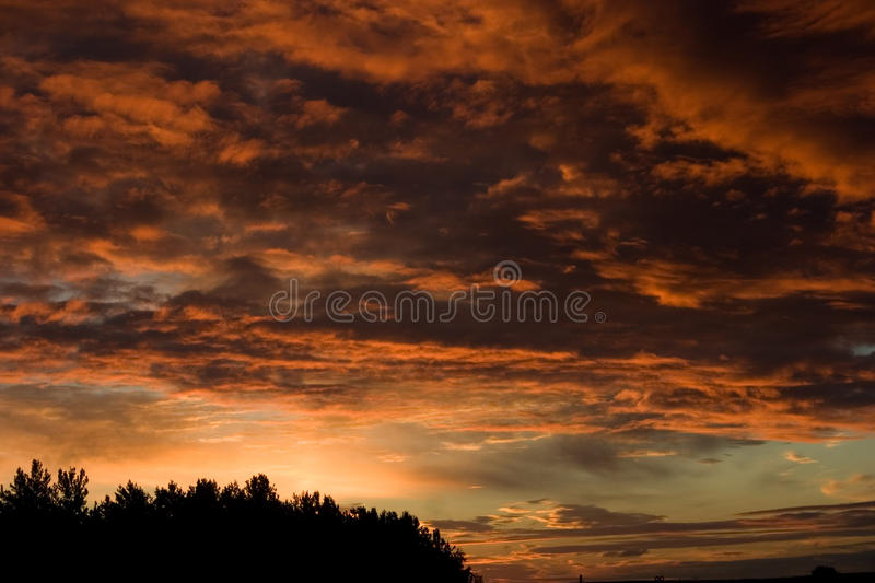 Download Red sky stock photo. Image of purple, gloomy, weather - 26986814