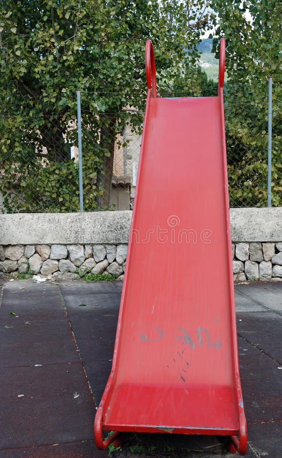 Red slide stock photos