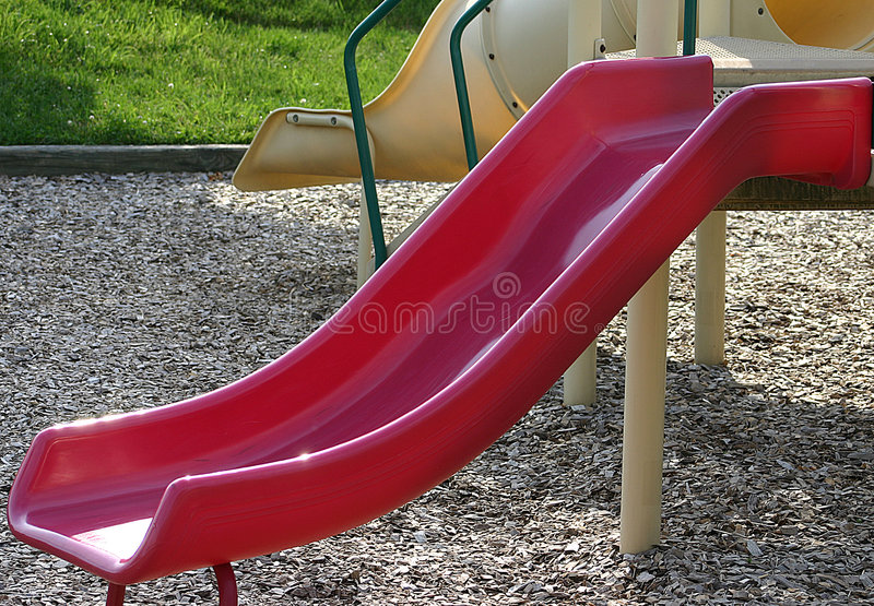 Red Slide Stock Images