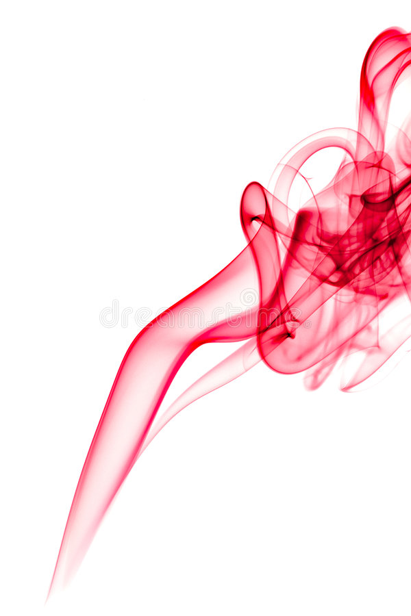 Red smoke royalty free stock images