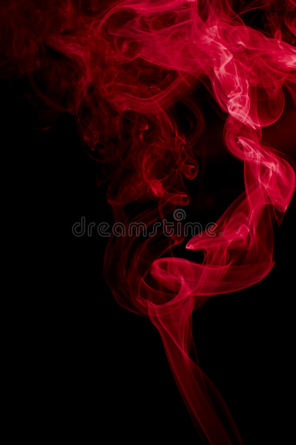 Download Red Smoke Abstract Background Stock Image