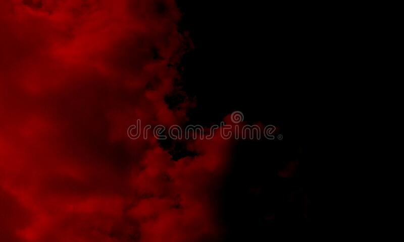 Red smoke abstract background.Abstract red smoke mist fog on a black background. Texture, isolated.Powerful smoke abstract. Abstract red smoke mist fog on a stock photo