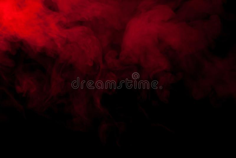 Red Smoke Or Steam On A Black Background For Wallpapers And Backgrounds Stock Photo Image Of Background Copy 135617556