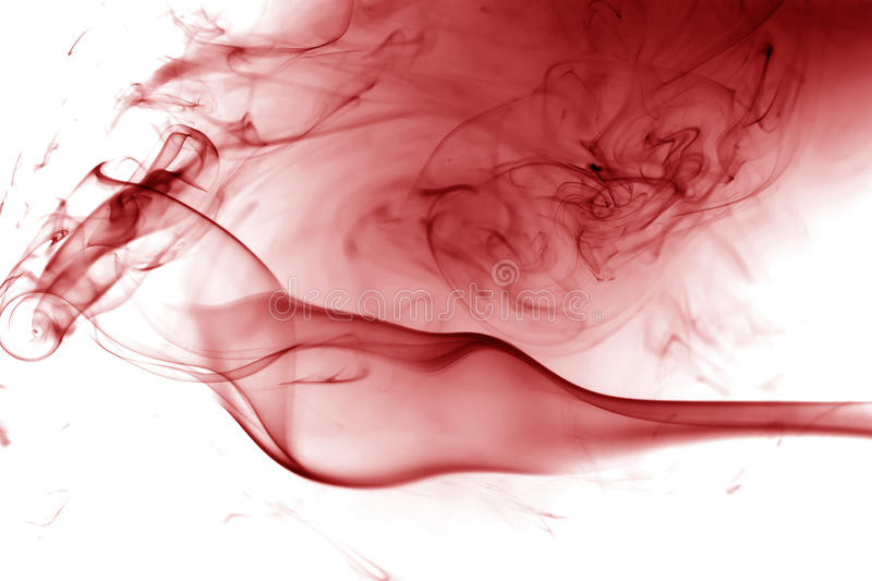 Red smoke. Movement vector illustration