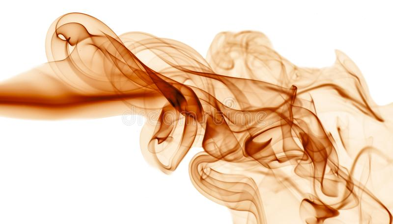 Red Smoke on white background. Detail of Red Smoke on white background stock image