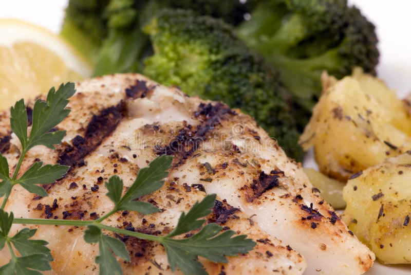Download Red Snapper Dinner stock photo. Image of marks, food, dining - 2135086