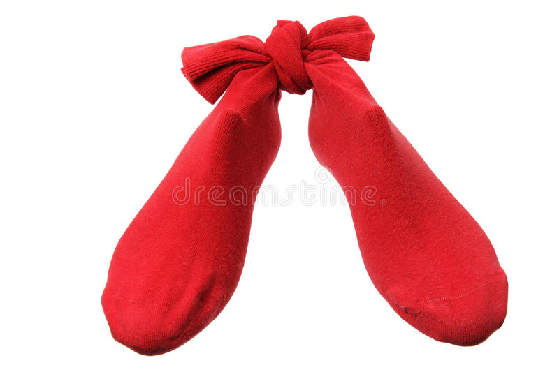 Red Socks Stock Images