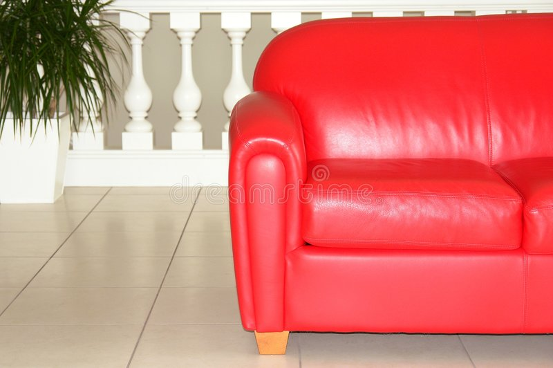Download Red Sofa Stock Photo - Image: 3337800