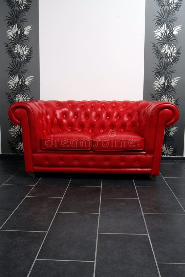 Download Red sofa stock image. Image of designer, design, stylish - 4003897