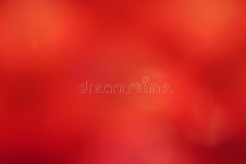 Red soft background, blurred red gradient soft background, colorful red light soft shade bokeh abstract background royalty free stock image