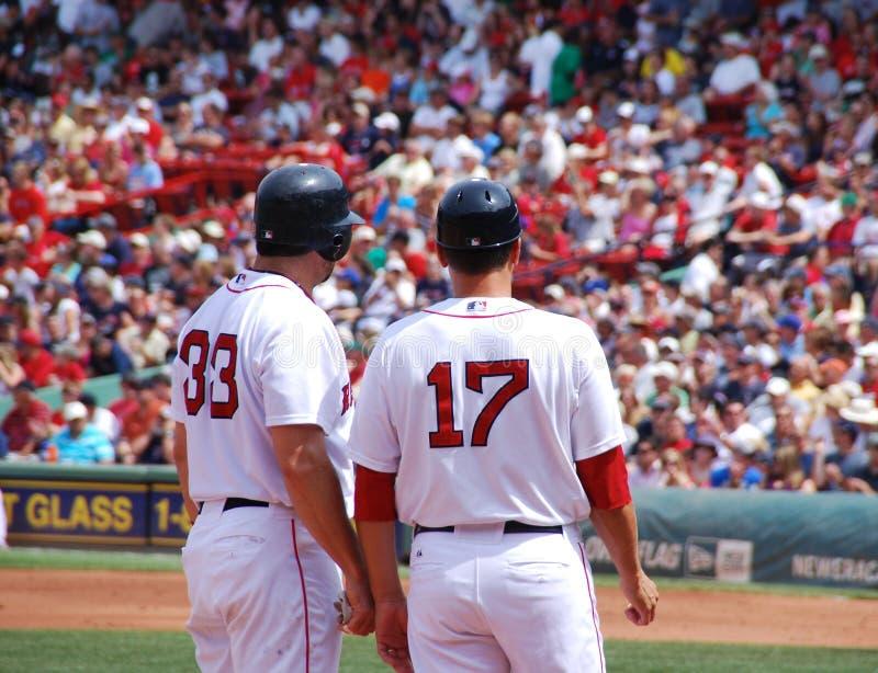 Red Sox fotografie stock libere da diritti