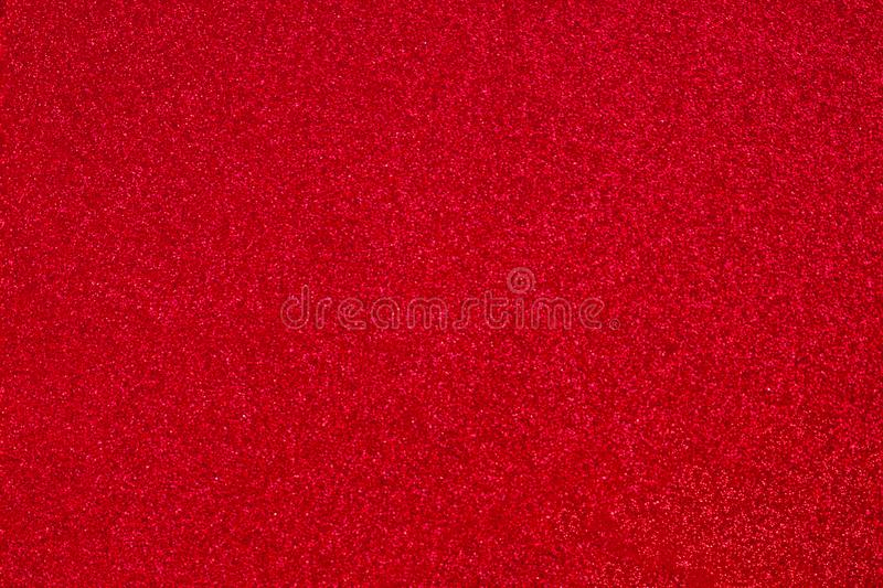 Red Sparkle Wallpaper for Valentines Day and Christmas. Dark Red Abstract glitter Background for greeting and wedding invitation royalty free stock photos