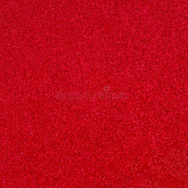 Red Sparkle Wallpaper for Valentines Day and Christmas. Dark Red Abstract glitter Background for greeting and wedding invitation. Card royalty free stock images