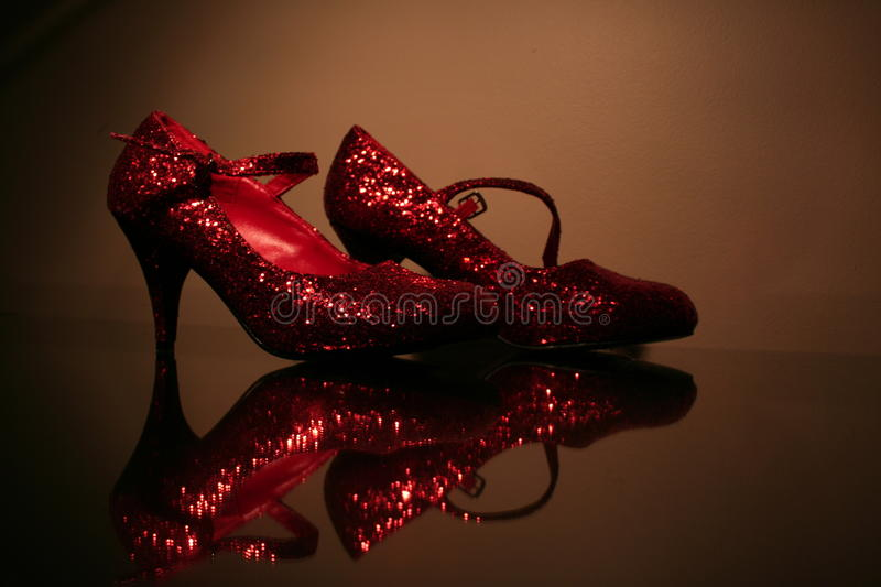 Download Red Sparkly Shoes stock image. Image of sparkle, shoe - 13594325