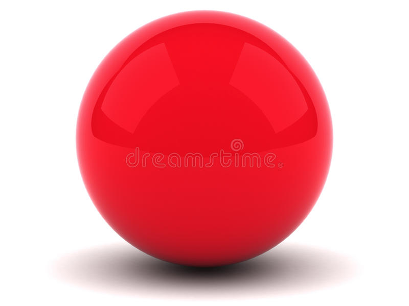 Download Red Sphere Stock Images - Image: 18184344