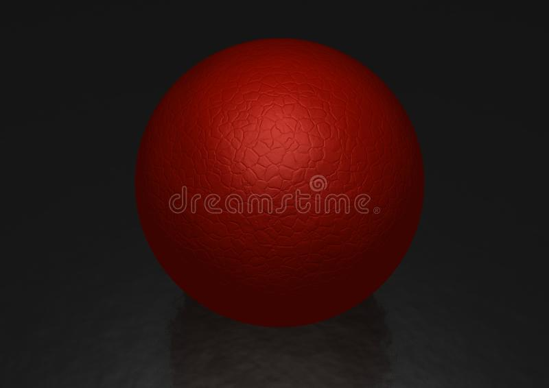Download Red sphere stock illustration. Illustration of sphere - 21362869