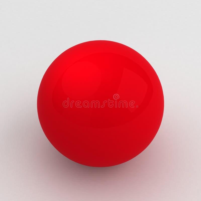 Red Sphere stock illustration
