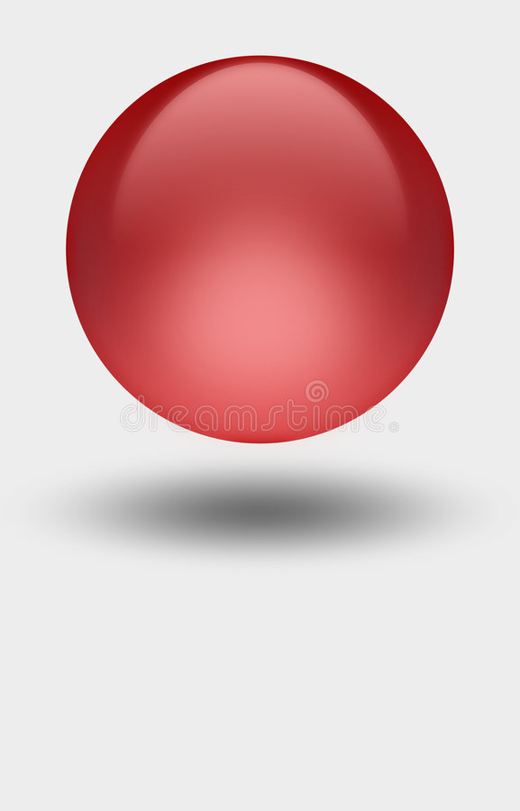Red Sphere stock photos
