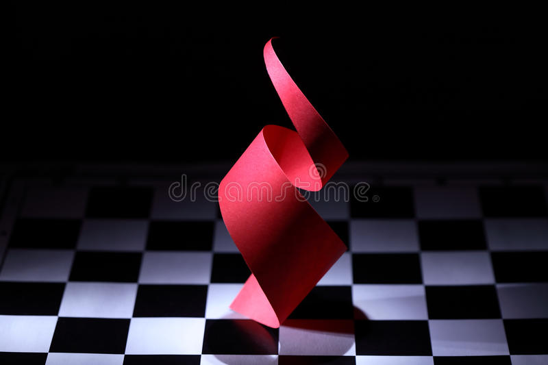 Download Red Spiral stock photo. Image of origami, illumination - 27346636