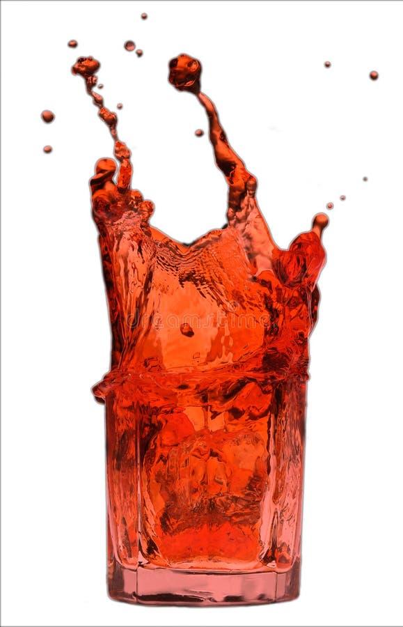 The red splash stock photos