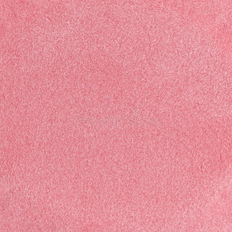 Red sponge texture background, close up view of a cosmetic sponge or pad for facial make up stock images