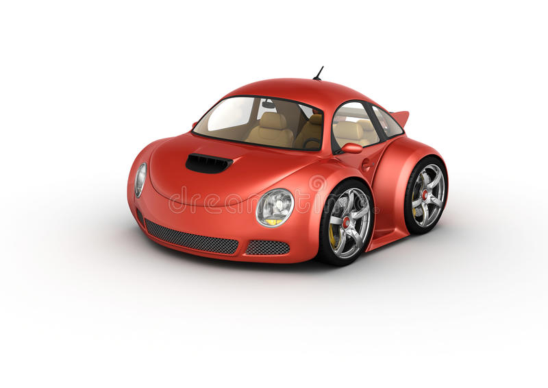 Download Red Sport Car Royalty Free Stock Photos - Image: 12761698