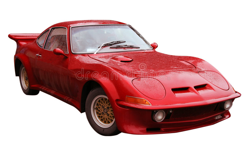 Download Red Sport Car Royalty Free Stock Image - Image: 6182986